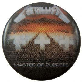 Metallica - 'Master of Puppets' Button Badge
